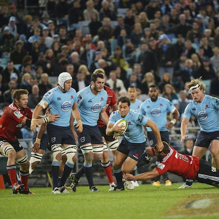 _PB13718 - 2015 May 23, Sanzar Super Rugby, Waratahs V Crusaders. Waratahs defeated Crusaders 32-22, ANZ Stadium, Sydney Olympic Park