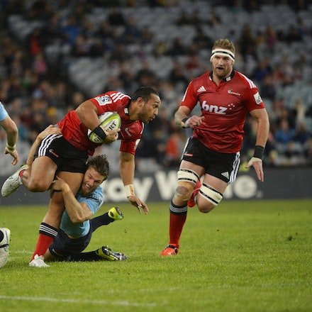 _PB13697 - 2015 May 23, Sanzar Super Rugby, Waratahs V Crusaders. Waratahs defeated Crusaders 32-22, ANZ Stadium, Sydney Olympic Park
