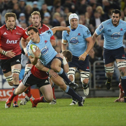 _PB13725 - 2015 May 23, Sanzar Super Rugby, Waratahs V Crusaders. Waratahs defeated Crusaders 32-22, ANZ Stadium, Sydney Olympic Park