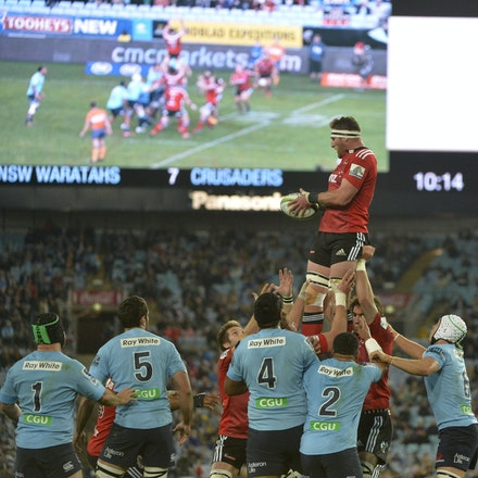 _PB13790 - 2015 May 23, Sanzar Super Rugby, Waratahs V Crusaders. Waratahs defeated Crusaders 32-22, ANZ Stadium, Sydney Olympic Park