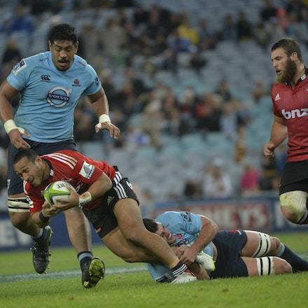 _PB13961 - 2015 May 23, Sanzar Super Rugby, Waratahs V Crusaders. Waratahs defeated Crusaders 32-22, ANZ Stadium, Sydney Olympic Park