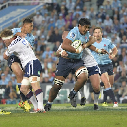_PB18166 - 2015 28th March. NSW Waratahs Defeat the Blues 23 to 11 at Allianz Stadium