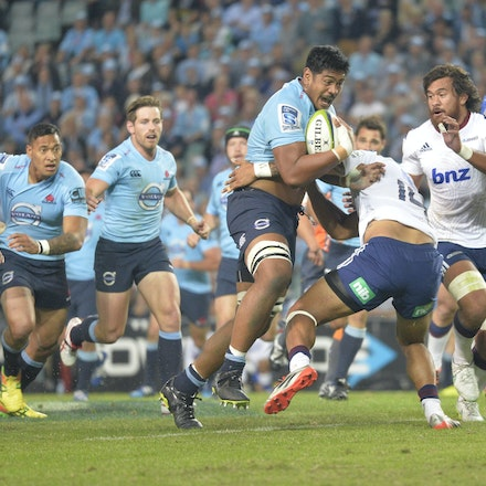 Waratahs V Blues