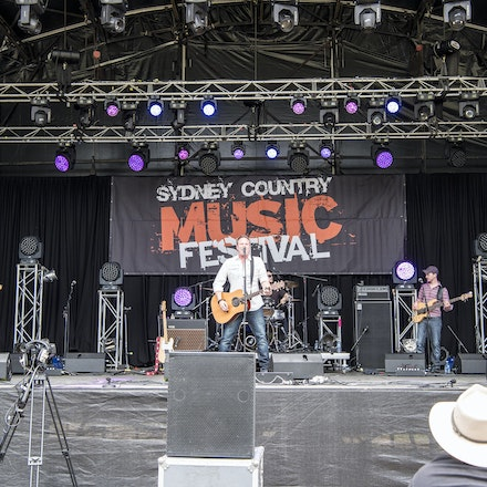 _DSC2788 - 31st October 2015. Sydney Country Music Festival held at Bella Vista Farm. Ben Ransom on stage performs