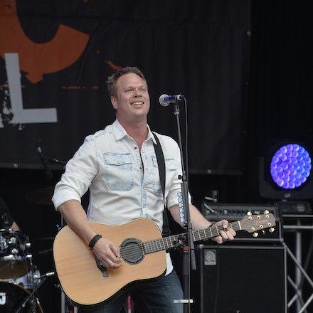 _PB11024 - 31st October 2015. Sydney Country Music Festival held at Bella Vista Farm. Ben Ransom on stage performs