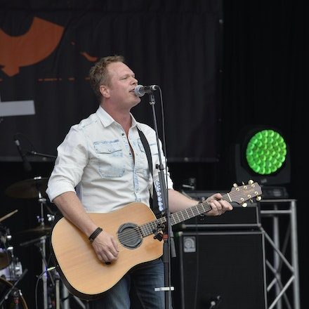 _PB11021 - 31st October 2015. Sydney Country Music Festival held at Bella Vista Farm. Ben Ransom on stage performs
