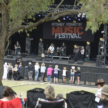 _PB11043 - 31st October 2015. Sydney Country Music Festival held at Bella Vista Farm. Ben Ransom on stage performs