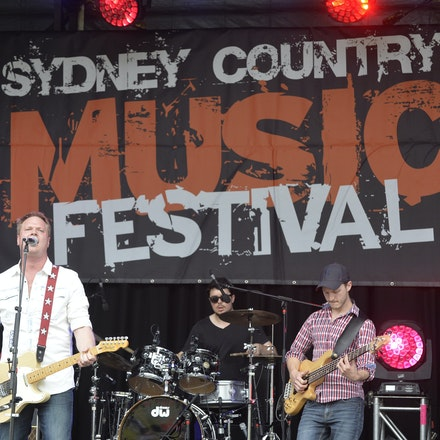 _PB11055 - 31st October 2015. Sydney Country Music Festival held at Bella Vista Farm. Ben Ransom on stage performs