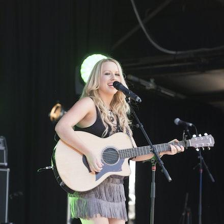 _DSC3276 - 1st November 2015. Sydney Country Music Festival held at Bella Vista Farm. Christie Lamb performs