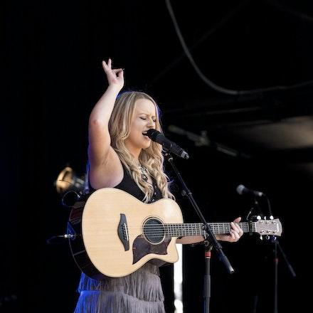 _DSC3291 - 1st November 2015. Sydney Country Music Festival held at Bella Vista Farm. Christie Lamb performs