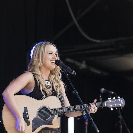 _DSC3295 - 1st November 2015. Sydney Country Music Festival held at Bella Vista Farm. Christie Lamb performs