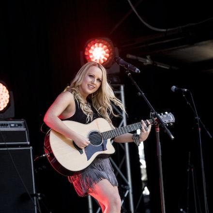 _DSC3311 - 1st November 2015. Sydney Country Music Festival held at Bella Vista Farm. Christie Lamb performs