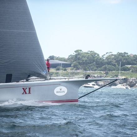 _DSC9480 - 2015 Rolex Sydney to Hobart start. Wild Oats in action