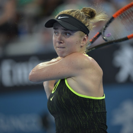 _PB15919 - 2nd January 2017, Day 2, Brisbane International Tennis. Elina SVITOLINA (UKR) defeats Monica PUIG (PUR) IN STRAIGHT SETS. 6-3, 6-3. SVITOLINA...