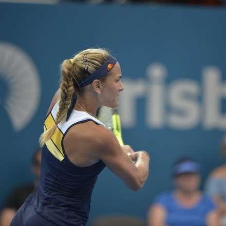 _PB15984 - 2nd January 2017, Day 2, Brisbane International Tennis. Elina SVITOLINA (UKR) defeats Monica PUIG (PUR) IN STRAIGHT SETS. 6-3, 6-3. PUIG in...