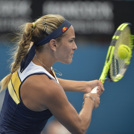 _PB15988 - 2nd January 2017, Day 2, Brisbane International Tennis. Elina SVITOLINA (UKR) defeats Monica PUIG (PUR) IN STRAIGHT SETS. 6-3, 6-3. PUIG in...