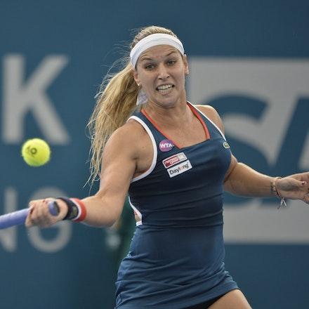 _PB11352 - 4th January 2017, Day 5, Brisbane International Tennis. Alize CORNET (FRA) defeats Dominika CIBULKOVA in straight sets 6-3 7-5 Cibulkova in...