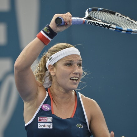_PB11369 - 4th January 2017, Day 5, Brisbane International Tennis. Alize CORNET (FRA) defeats Dominika CIBULKOVA in straight sets 6-3 7-5 Cibulkova in...