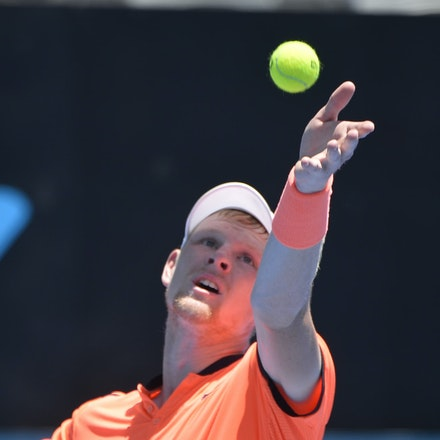 _PB17049 - 9th January 2017, Day 2, APIA International Sydney Tennis. Mathew BARTON (AUS) defeats Kyle EDMUND (GBR) in straight sets 7-6 7-6 Edmund in...