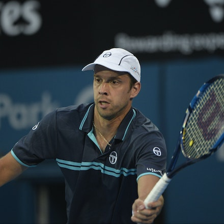 _PB13733 - 14th January 2017, Day 7, APIA International Sydney Tennis. Men's Final. Gilles MULLER (LUX) defeats Daniel EVANS (GBR) in straight sets 7-6...
