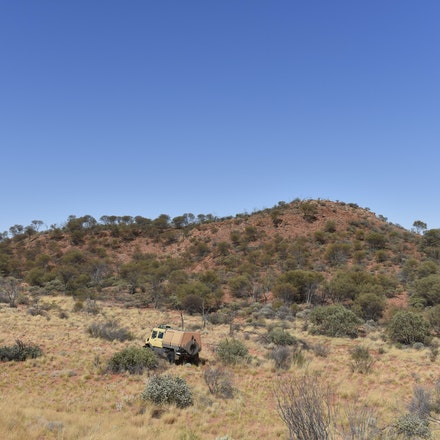 _DSC0562 - Following in the footsteps of David Carnegie, searching for Aboriginal artifacts and rock holes that the local aboriginals only knew about through...