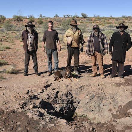 _DSC1203 - Following in the footsteps of David Carnegie, searching for Aboriginal artifacts and rock holes that the local aboriginals only knew about through...