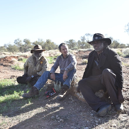 _DSC1566 - Following in the footsteps of David Carnegie, searching for Aboriginal artifacts and rock holes that the local aboriginals only knew about through...