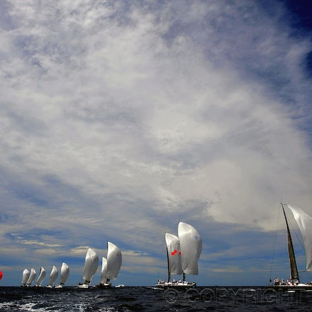 2011 Rolex Farr 40 Yacht Race - The 2011 Rolex Farr 40 held on Sydney Harbour.
