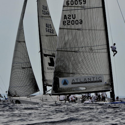 DSC_9603 - 25.02.2011 Rolex Farr 40 World Championship from Sydney Harbour Australia. US Yacht Plenty owned by Alex Roepers with tactition Chris Larson...