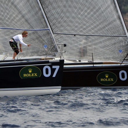 DSC_9886 - 25.02.2011 Rolex Farr 40 World Championship from Sydney Harbour Australia. Australian Yacht Estate Master owned by Lisa & Martin Hill with Tactician...