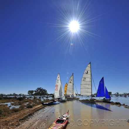 2010 Lake Eyre Regatta