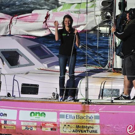 2010 Jessica Watson Arrival