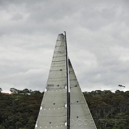 _DSC0614 - 17.12.2011. Sydney, Australia. Day 3. Rolex Trophy Passage Series. Lahana Skippered by Millard Honan in action