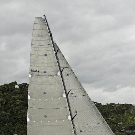 _DSC0650 - 17.12.2011. Sydney, Australia. Day 3. Rolex Trophy Passage Series. Lahana Skippered by Millard Honan in action