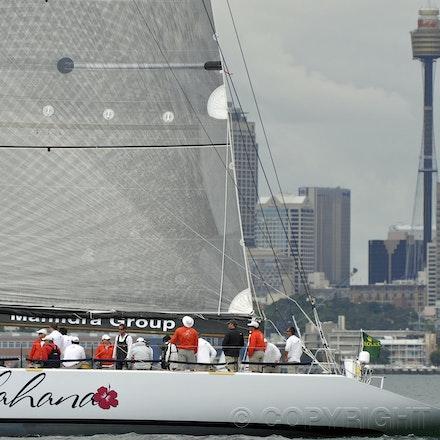 _DSC0749 - 17.12.2011. Sydney, Australia. Day 3. Rolex Trophy Passage Series. Lahana Skippered by Millard Honan in action