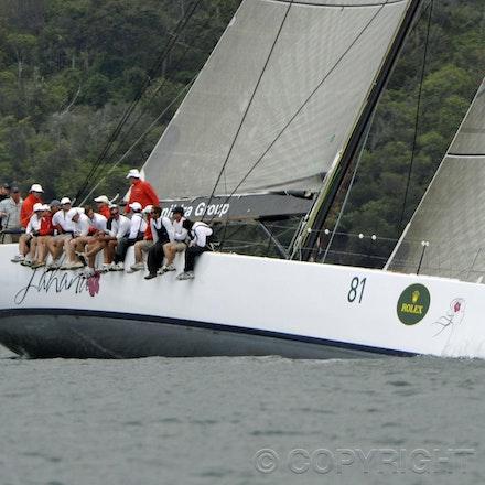 _DSC0867 - 17.12.2011. Sydney, Australia. Day 3. Rolex Trophy Passage Series. Lahana Skippered by Millard Honan in action