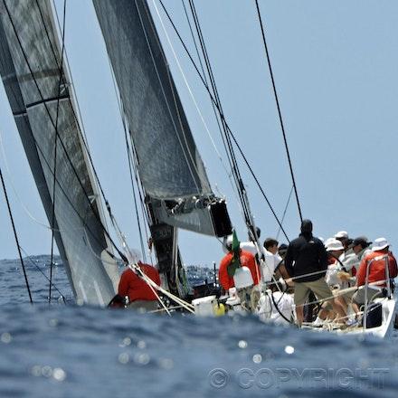 _DSC1200 - 17.12.2011. Sydney, Australia. Day 3. Rolex Trophy Passage Series. Lahana Skippered by Millard Honan in action