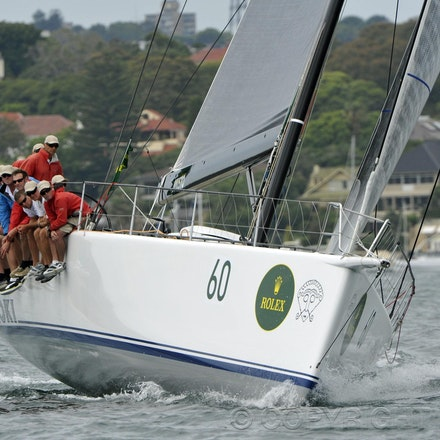 _DSC2160 - 18.12.2011. Sydney, Australia. Day 3. Rolex Trophy Passage Series. Loki skippered by Stephen Ainsworth in action