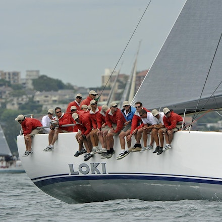 _DSC2164 - 18.12.2011. Sydney, Australia. Day 3. Rolex Trophy Passage Series. Loki skippered by Stephen Ainsworth in action