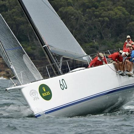 _DSC2208 - 18.12.2011. Sydney, Australia. Day 3. Rolex Trophy Passage Series. Loki skippered by Stephen Ainsworth in action