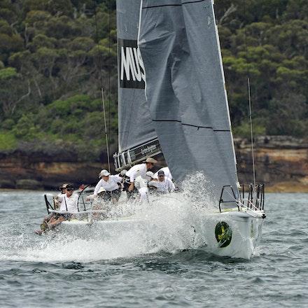_DSC2232 - 18.12.2011. Sydney, Australia. Day 3. Rolex Trophy Passage Series. Calm skippered by Jason Van Der Slot in action