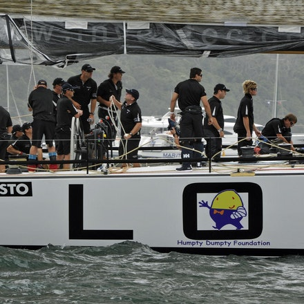 _DSC3405 - 26.12.2011. Sydney, Australia. Rolex Sydney to Hobart Yacht Race 2011.The crew of loyal prepare for the start of the race.