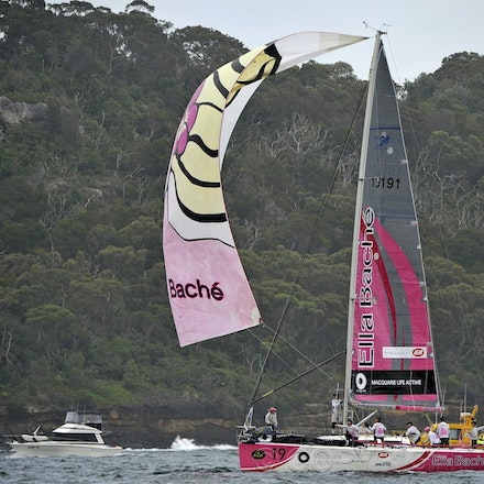 _DSC3428 - 26.12.2011. Sydney, Australia. Rolex Sydney to Hobart Yacht Race 2011. Jessica Watson skippers her boat Ella Bache. Her crew is the youngest...