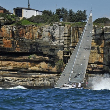 201203_Blakeman_067921 - 11.03.2012. Sydney, Australia. in action during the Sydney Harbour Regatta held on Sydney Harbour.