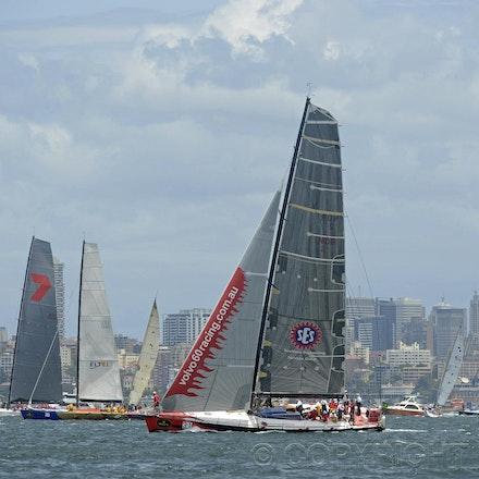 Blakeman_201212_Passage_7861 - 26/12/12, Sydney, Australia, Start of the Sydney to Hobart on Sydney Harbour