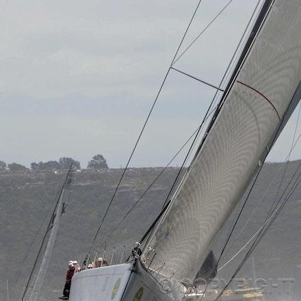 Blakeman_201212_Passage_8161 - 26/12/12, Sydney, Australia, Start of the Sydney to Hobart on Sydney Harbour