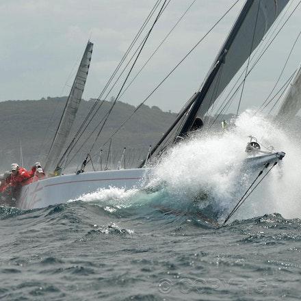 Blakeman_201212_Passage_8277 - 26/12/12, Sydney, Australia, Start of the Sydney to Hobart on Sydney Harbour