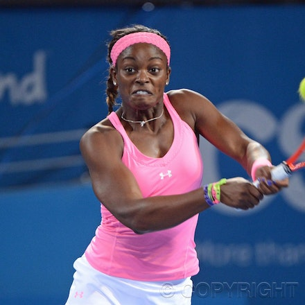 Blakeman_2013_0002439 - 3/1/13, Brisbane, Australia, Day 5 of the Brisbane International Tennis Held on Pat Rafter Arena. Serena WILLIAMS (USA) defeats...
