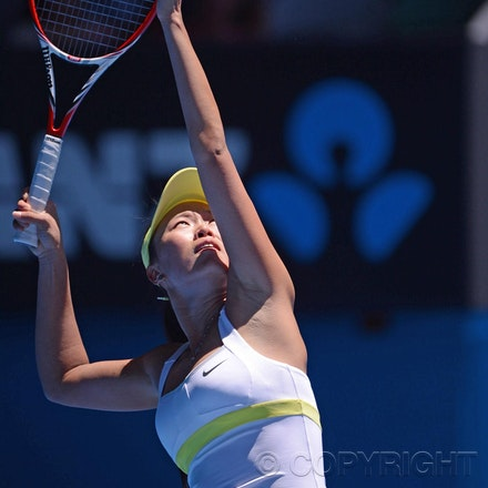 Blakeman_2013_0004493 - 14/1/13, Melbourne, Australia, Day 1 of the Australian Open Tennis. Samantha STOSUR (AUS) defeats Kai-Chen Chang (TPE) 7(7)-6(3),...