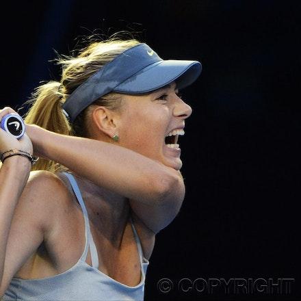 Blakeman_2013_0014687 - 18/1/13, Melbourne, Australia, Day 5 of the Australian Open Tennis. Maria SHARAPOVA defeats Venus WILLIAMS 6-1, 6-3